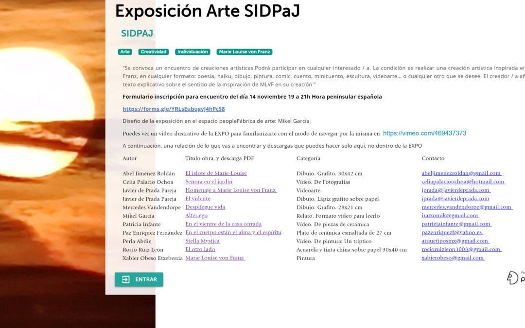 Exposición Arte SIDPaJ