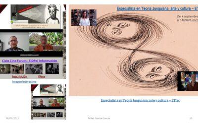 Próximas actividades arte en SIDPaJ